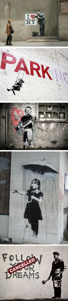 Best of Banksy [canvas prints at romeotees.com]