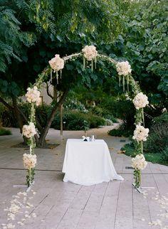 Ceremony Arch.