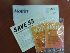 Sandra's Sample- Free Sample Pack of Motrin  http://womenfreebies.ca/free-samples/sandras-samples/motrin-sample-pack/