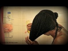 How To Co Wash Natural Hair http://www.blackhairinformation.com/growth/deep-conditioning/co-wash-natural-hair/