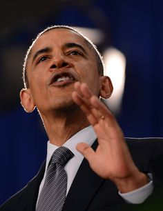 US President Barack Obama speaks on and even the MSN reporter begged him to stop his nonsense.