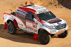 Toyota Hilux Dakar 2013 South America