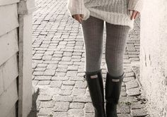Danny Kelly: who Knew Wellies & Wooly tights could look so Hot