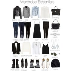 I need a LBD, a good satchel, and a black moto jacket is on my list! Can do without the Chucks though...