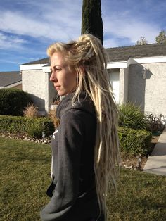 Synthetic Dreads — edmlover: Put my synthetic dreads back in: ) <3