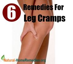 Home Remedies - Natural Remedies - Home Remedy - http://www.natural-homeremedies.org/blog/home-remedies-for-leg-cramps/