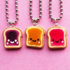 Kawaii- Peanut butter jelly time...lol. (✿◠‿◠)