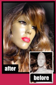 Rootstein mannequin before and after, June 2014