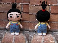 Crochet Pattern: Lil' Agnes (Despicable Me)