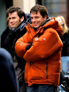 Tenth Doctor Smiling David Tennant on Pinte...