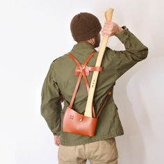 It's like a backpack, for your axe. You know, just in case of zombie apocalypse or something.