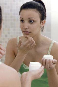 homemade face wash: 1/4 c water, 1 tsp lemon juice, 1 tsp baking soda  spot treatment: 1 tsp baking soda 2 tsp water, soak piece of gauze in solution, hold gauze over trouble spot on skin for 10 min, rinse