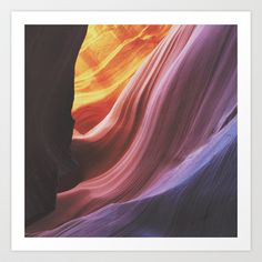 Antelope Canyon Art Print by Kevin Russ - $16.00