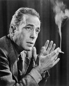 Bogart died of lung cancer
