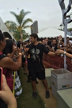 And Misha Collins handed out cups of coffee to people camped out for H Hall because of course he did. | The 21 Most Amazing Things That Happened At Comic-Con This Year