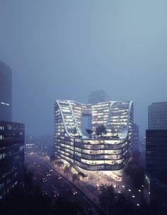 Green Square  |  Koichi Takada Architects  |  Visualisation: MIR.  Location: Sydney, Australia  |