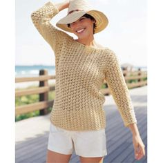 3. This Norah Gaughan pullover is perfect for summer. Canadian summers are wildly unpredicable and it's great to have this for cooler evenings. knitting sweaters, free pattern, knitting patterns, yarn, lace patterns, knit pattern