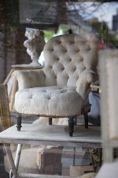 Stripped down chair  xo--FleaingFrance