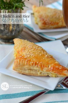 Easy Chicken and Rice Turnovers | chicken pot pie pastry puff #recipe @unclebensrice #bensbeginners