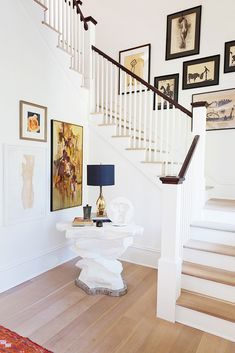 Staircase. Exclusive: Tour Country Star Darius Rucker's Charming Charleston Home