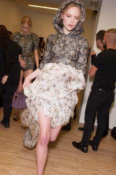 Backstage Pass: Milan Fashion Week Fall 2014 - Dolce & Gabbana