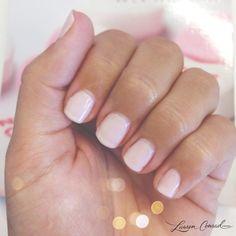 """pretty pale pink {Essie """"Guchi Muchi Puchi""""}"""