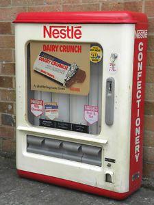 Nestle's Chocolate vending machines