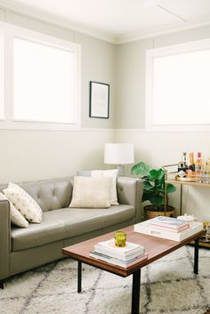 Decorating a Small Space Read more - http://www.stylemepretty.com/living/2014/03/03/decorating-a-small-space/