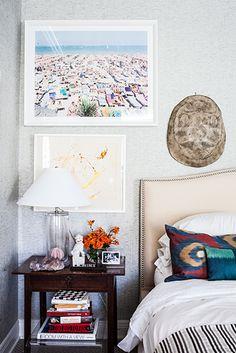 Designer Crush: Benjamin Vandiver// tortoise shell, gallery wall