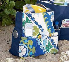 inspir tote, pottery barn inspired, diaper bags, tote tutori, pattern, potteri barn, beach bags, bag tutorials, tote bags
