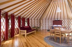 yurt.  big sur.