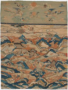 Tapestry with Boys at Play, 17th century. Qing dynasty (1644–1911). China.