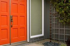 Orange front doors <3 <3 <3