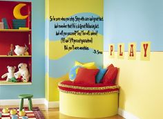 dr. seuss playroom