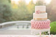 Garden Tea Party Styled Photo Shoot - by BeauPetitCupcakes @ CakesDecor.com - cake decorating website