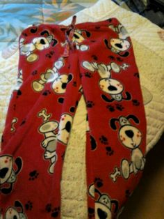 DIY pajama pants! So cute and easy to make! Love them!