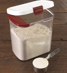 Progressive International Flour Keeper   Baking Bites