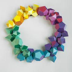 Frye Museum Store / Polygon Wreath