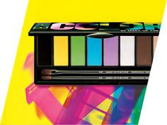 Paint yourself in the colors of Mardi Gras with the limited edition MAKE UP FOR EVER Technicolor Palette.