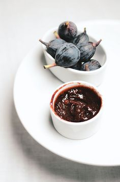 Fig and Ginger Compote|A Brown Table