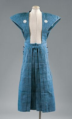 Kamishimo (men's formal wear), early 20th century, Japan
