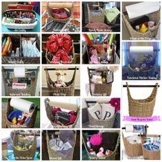 A million gift possibilities - Thirty-One Magazine basket