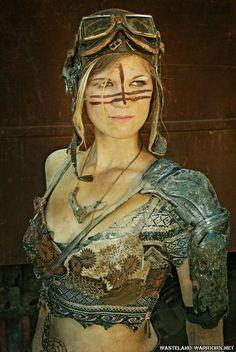 Lizzie the manic mechanic by *Wasteland-Warriors on deviantART.