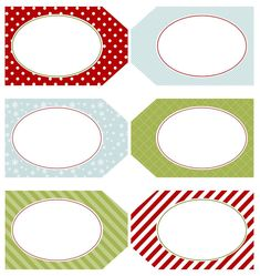 Free printable tags.  Click her link to see how she used them for her advent calendar (complete with ideas).
