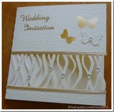 Butterfly Wedding Invitation 3