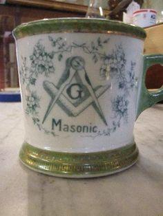 MASONIC Shaving mug