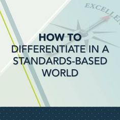 How to Differentiate in a standards-based world