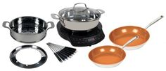 Nuwave PIC - Precision Induction Cooktop with Complete Cookware Set  From NuWave PIC