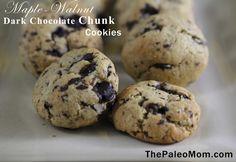 Maple-Walnut Dark Chocolate Chunk Cookie  by @Sarah Chintomby Ballantyne