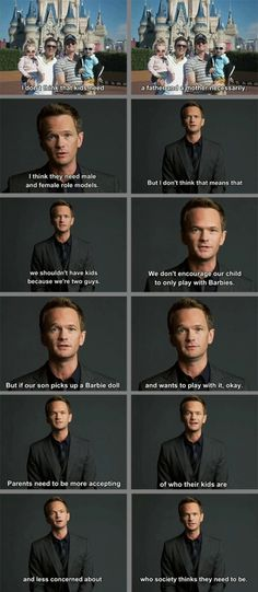 Neil Patrick Harris ladies and gentlemen